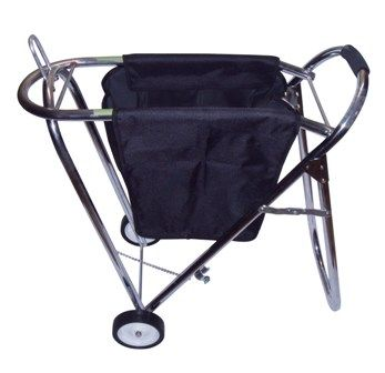 Alu Caddy klappbar mit abnehmbarer Tasche