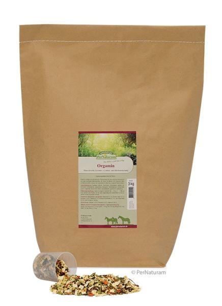 PerNaturam Orgamin 3 kg - natürliches Zusatzfutter