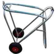 Sattelcaddy Aluminium klappbar - Air wheel